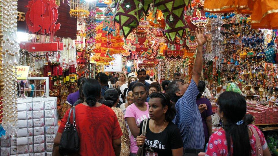 little india market singapore