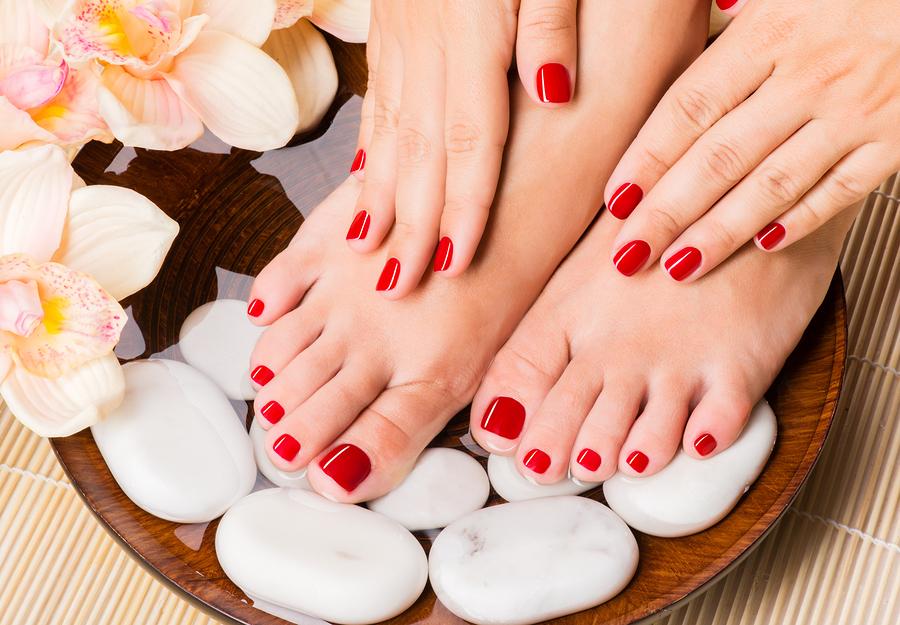 manicure and pedicure dubai