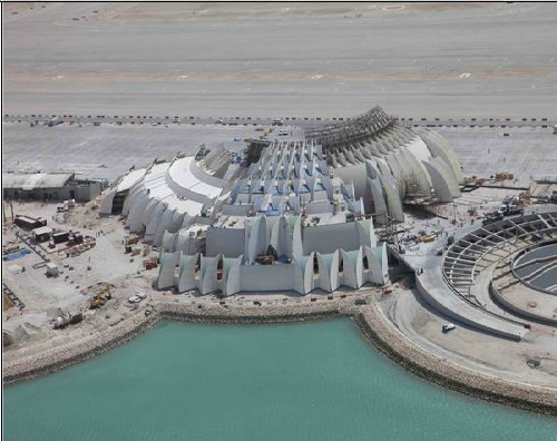 new doha airport construction