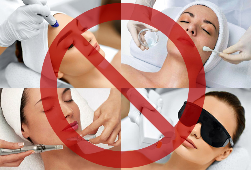 Treatments to Avoid prior to Laser Hair Removal