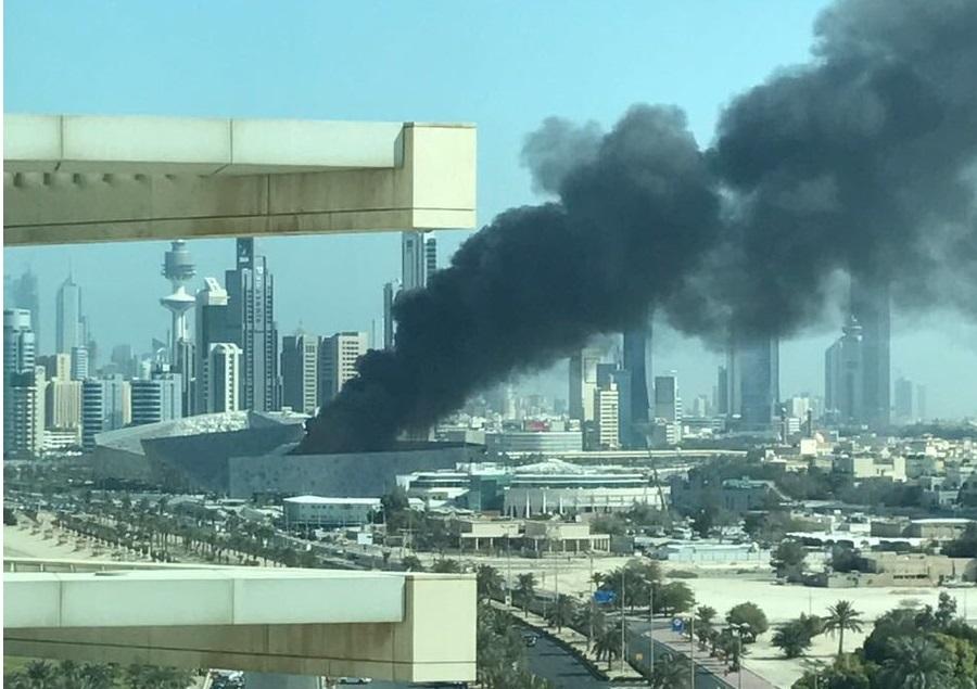 Opera house fire