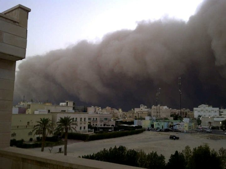 Kuwait sand storm