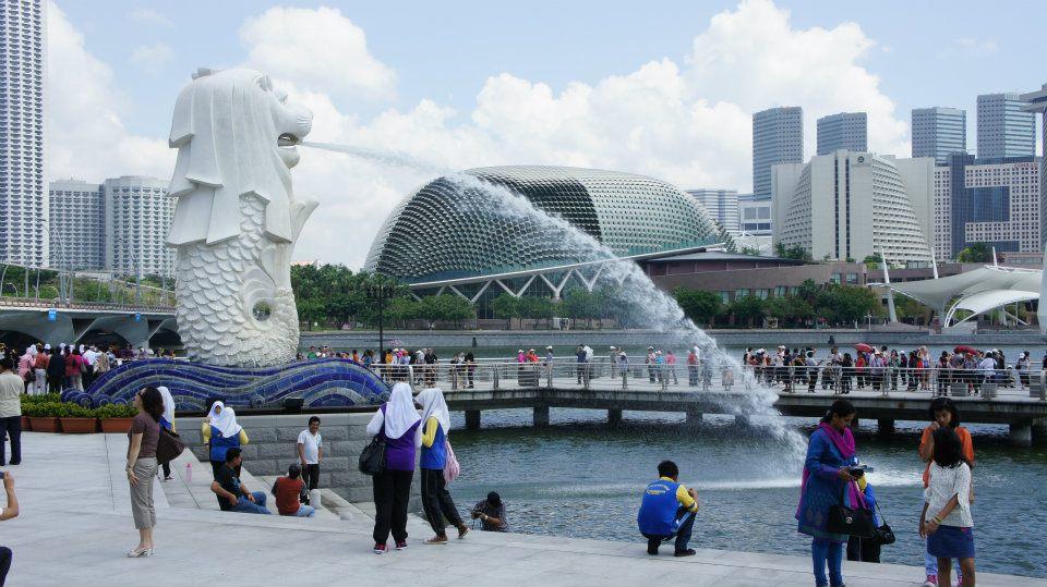 the merlion singapore