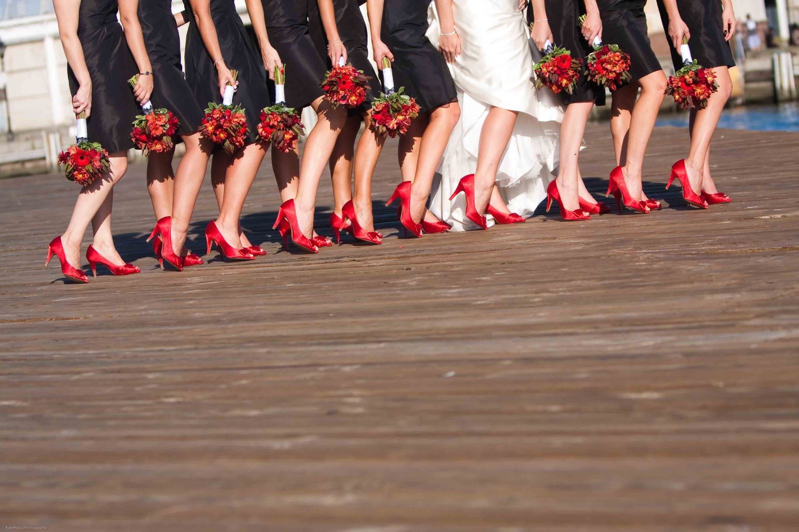 Reveal shoes wedding photo