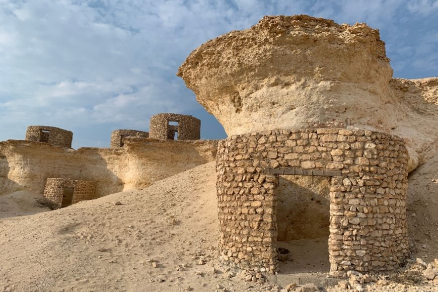 Explore the Northern Coastline of Qatar