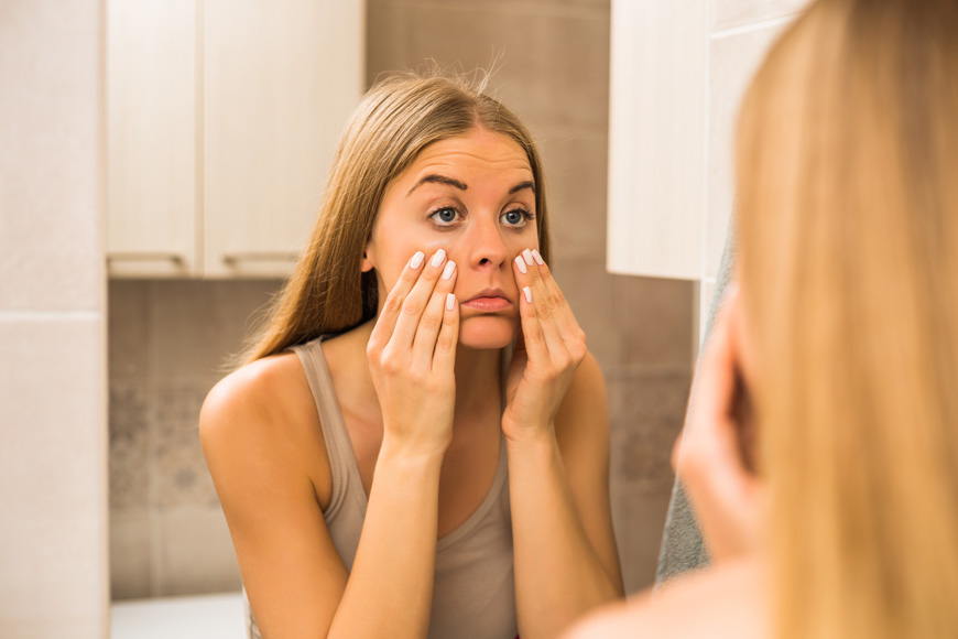 Remove dark circles and eye bags