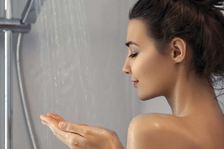 This is Why You Shouldn't Wash Your Face in the Shower