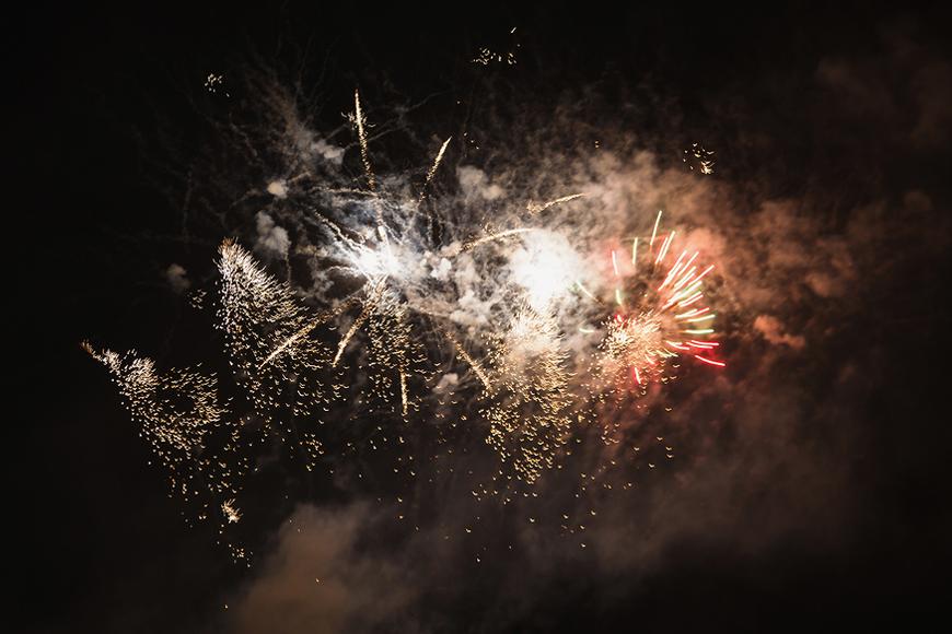 Fireworks in UAE in Ras Al Khaimah for NYE 2019
