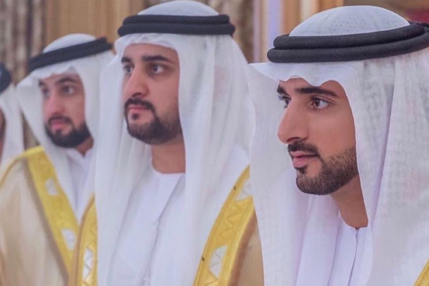 Dubai's Crown Prince Sheikh Hamdan and Brothers Are Married