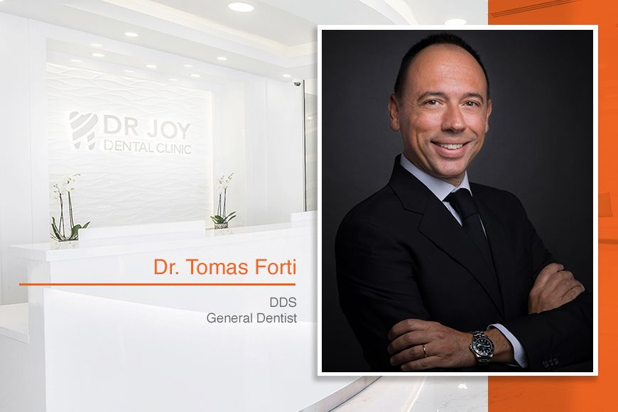 Dr. Joy Dental Clinic Welcomes Italian General Dentist Dr. Tomas Forti