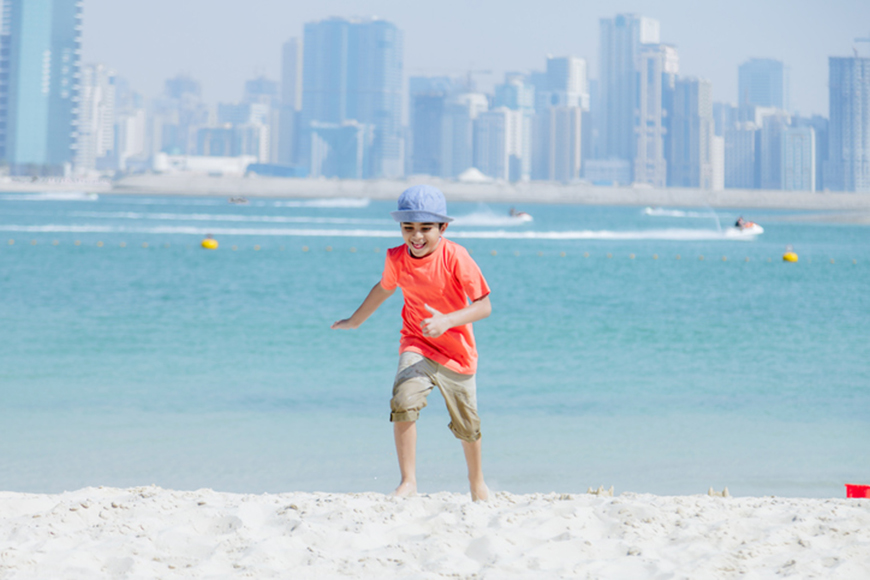 Family-only beaches in Dubai