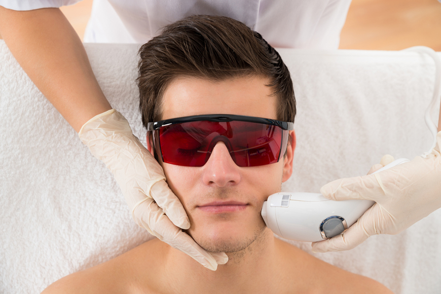 Laser Hair Removal for Men at Dubai London Clinic