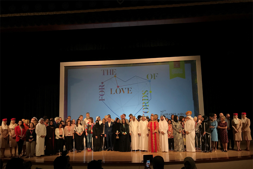 10th Emirates Airline International Festival of Literature Launches