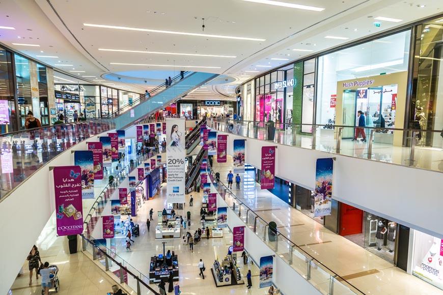 Dubai Marina Mall paid parking