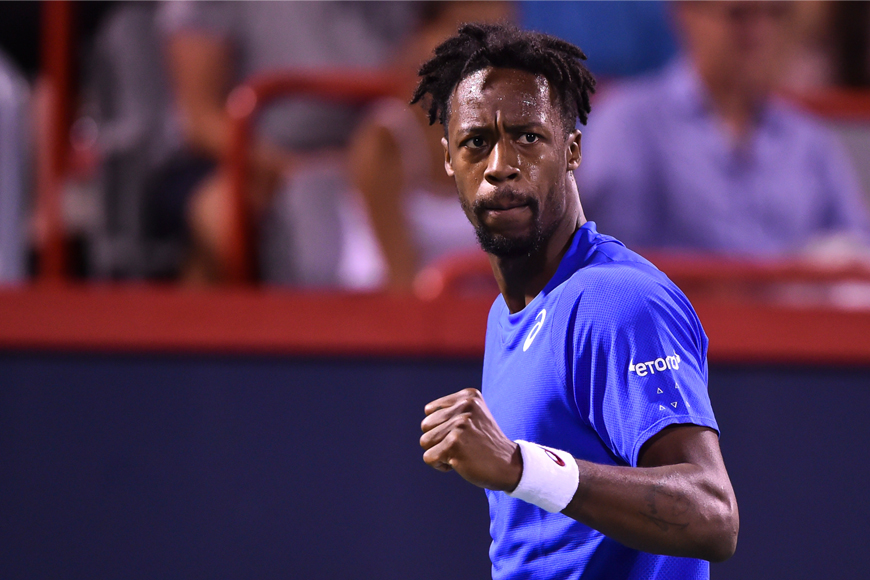 Catch World No. 10 Gaël Monfils at the Mubadala World Tennis Championship