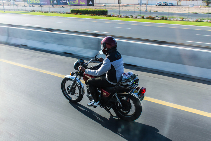 How to get a motorcycle licence in Dubai