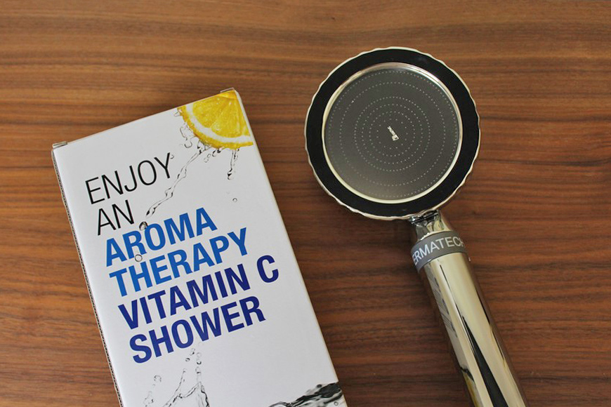 Permatech aroma therapy and Vitamin C shower head