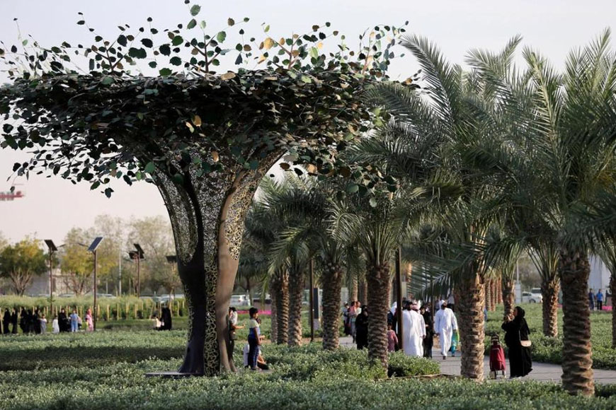 Dubai Quranic Park Becomes One of the World's Greatest Places