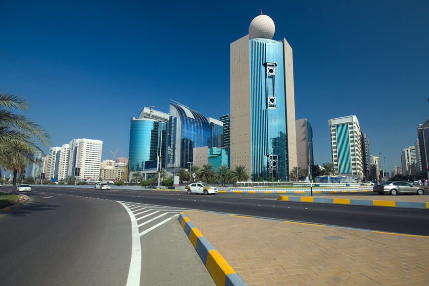 Abu Dhabi speed limit buffer