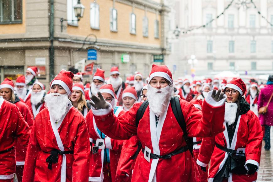 Santa Run Dubai