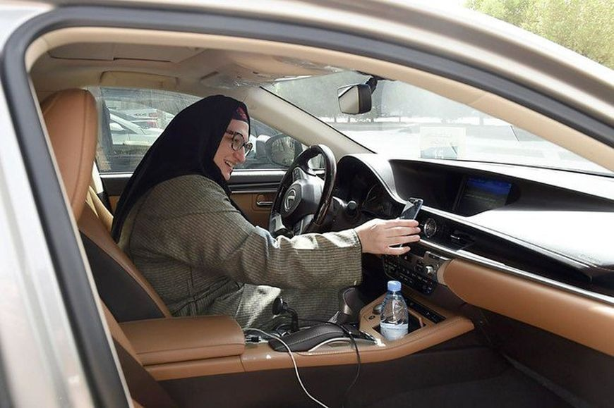 The first female Careem captain in Saudi Arabia after the ban on women driving has been banned