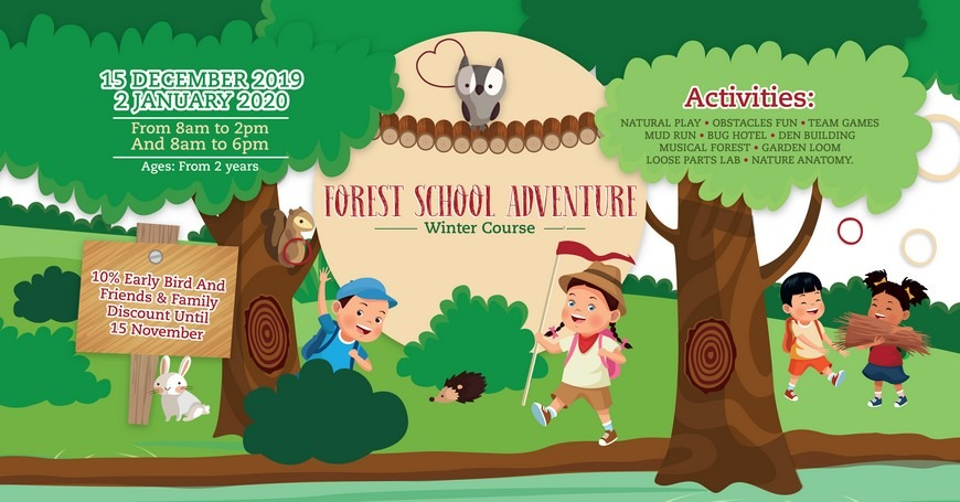 Forest School Adventure at Redwood Montessori Nursery