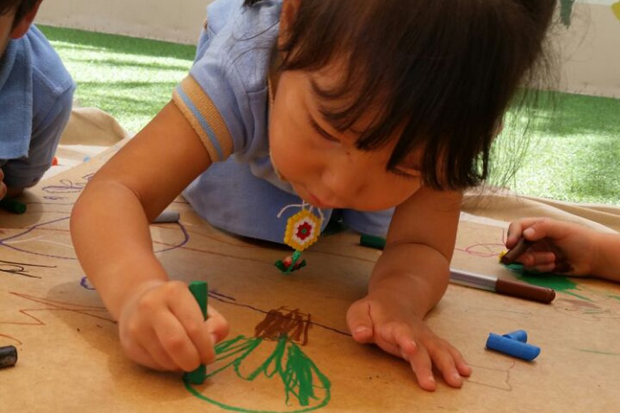 Drawing Can Prove to be an Expressive Language for Kids