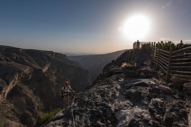 Oman mountains (PA: Sarah Marshall)
