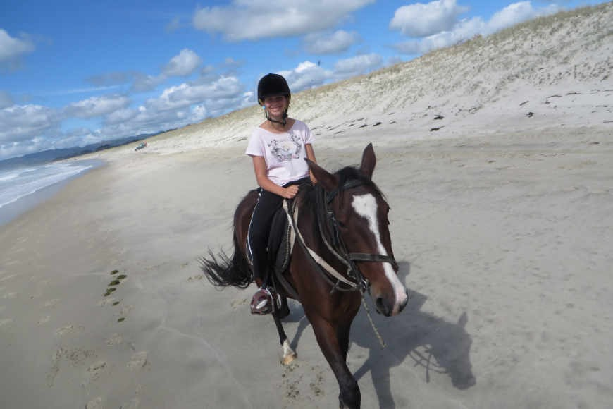 Horse Riding on Uretiti Beach