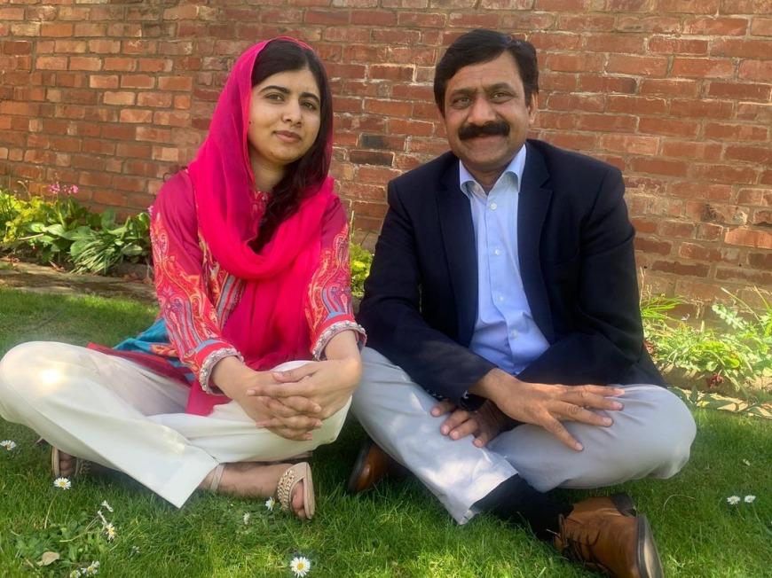 Malala at the Emirates Airline Literature Festival 2021