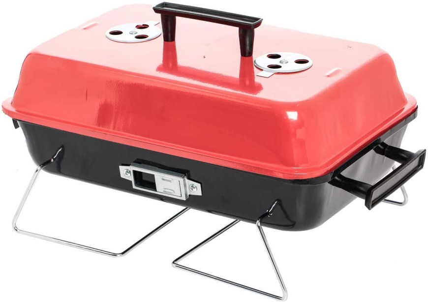 Portable Charcoal Chrome Plated Grill