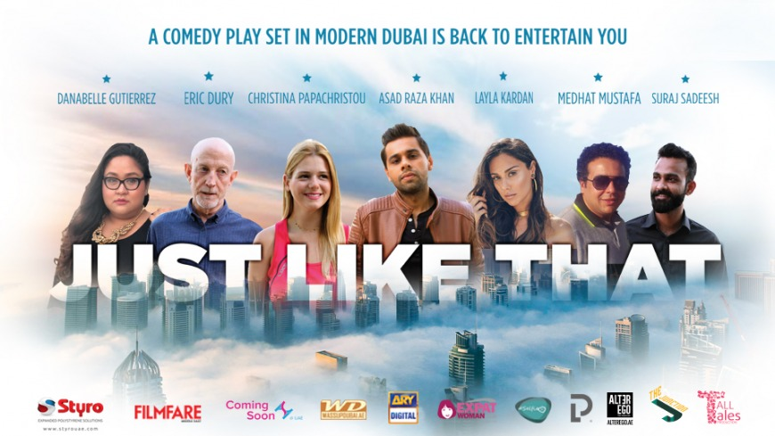 Just Like That - A Smash Hit Comedy Play is Back for a Second Run