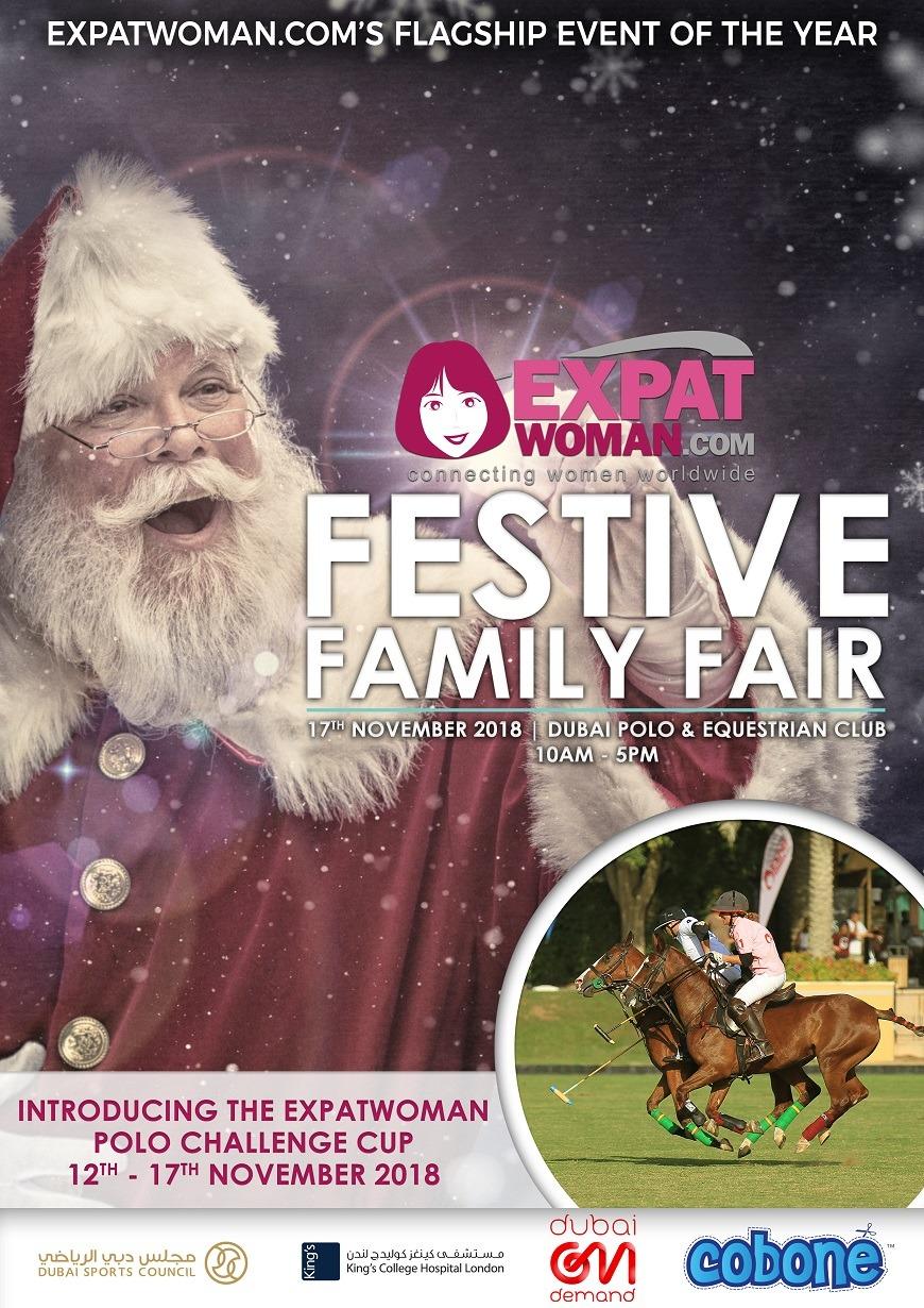 ExpatWoman's Festive Family Fair 2018