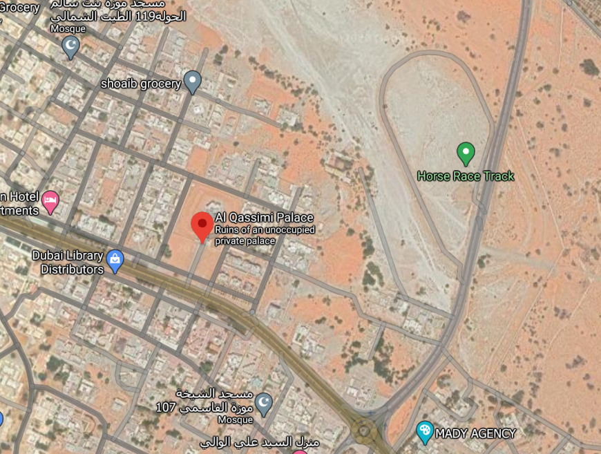 How to get to Al Qasimi Palace in Ras Al Khaimah UAE