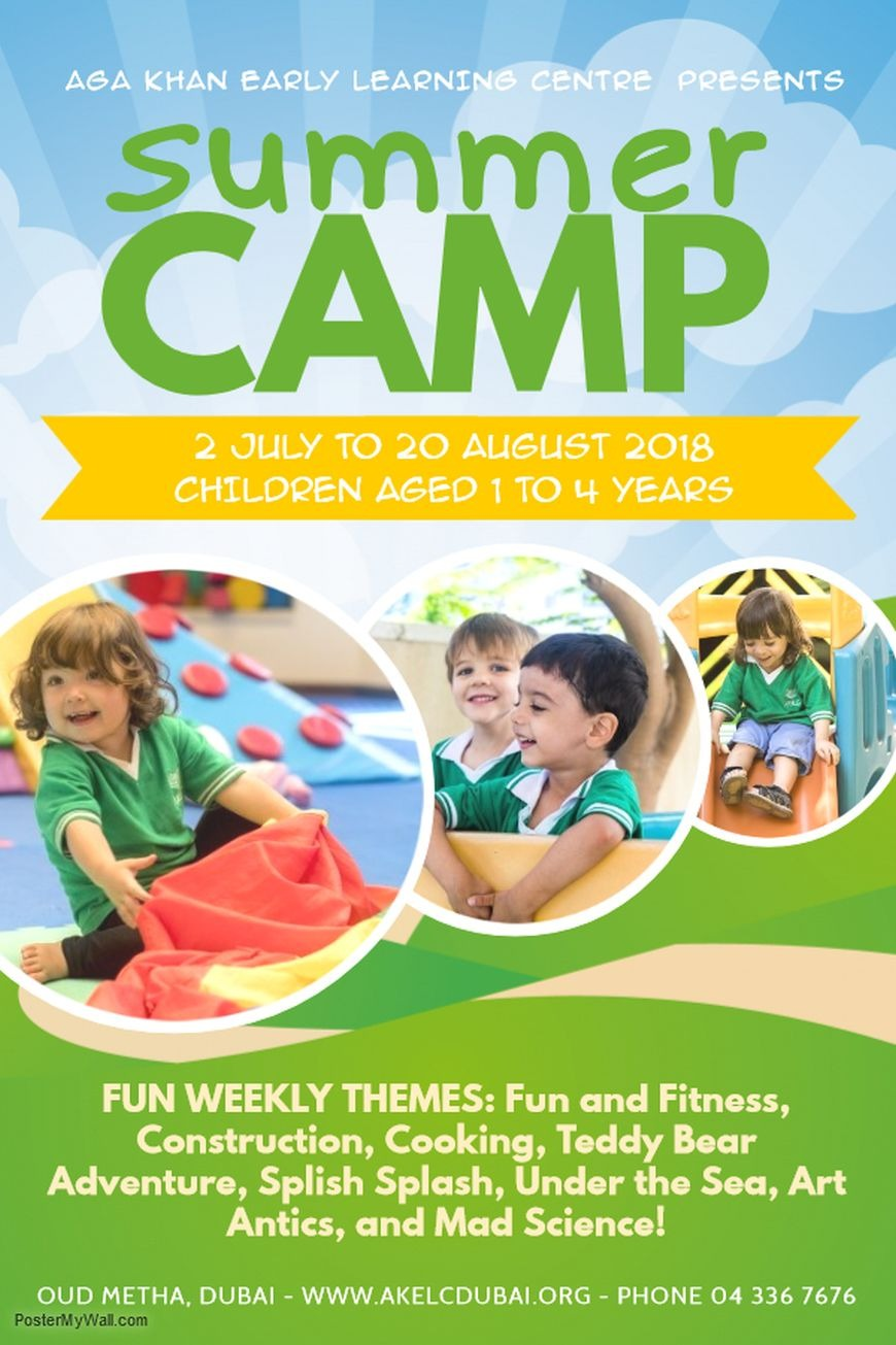 Aga Khan Early Learning Centre Summer Camp