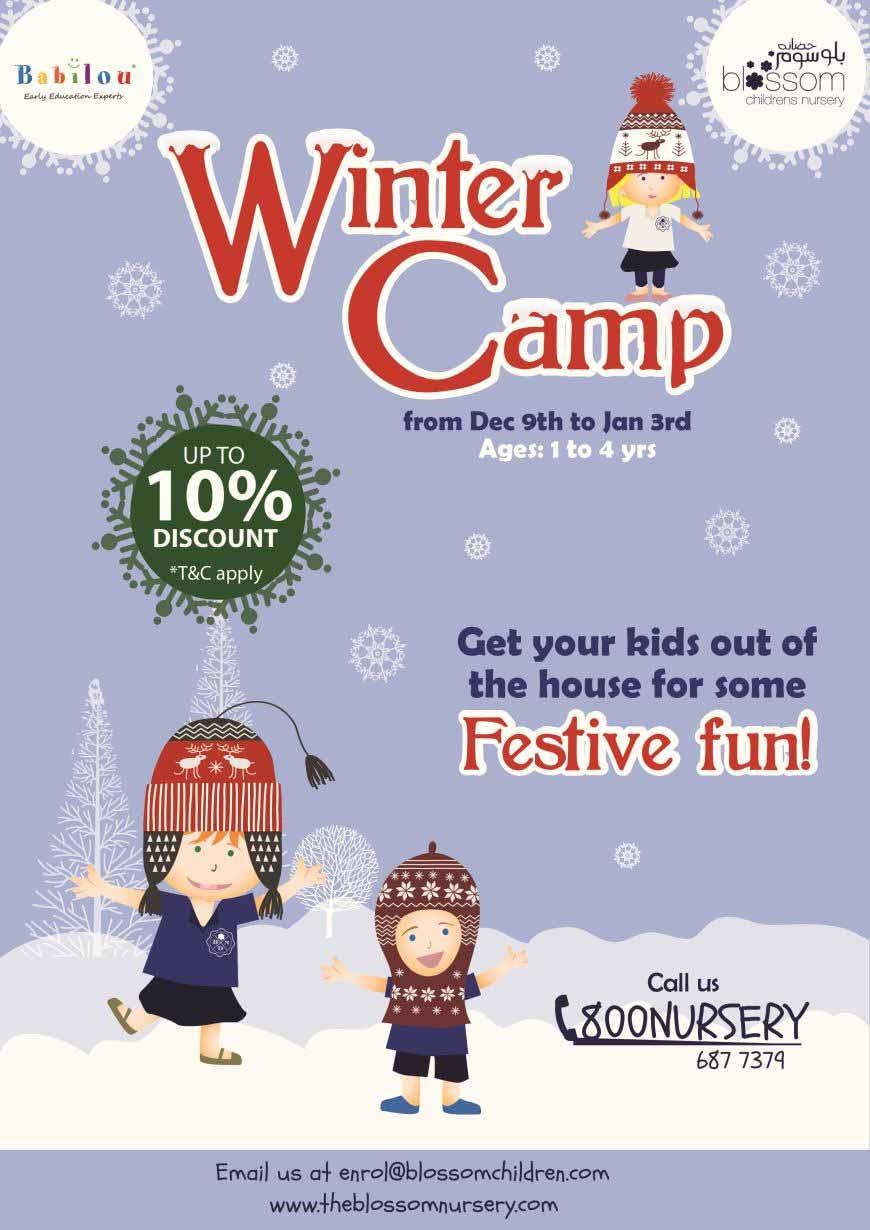 Blossom Nursery's Winter Camp 2018