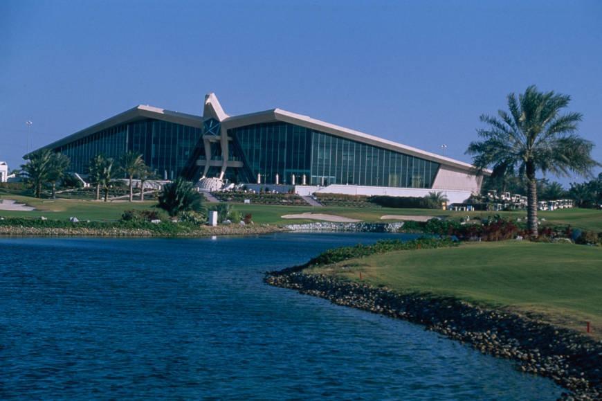 Abu Dhabi Golf Club in history