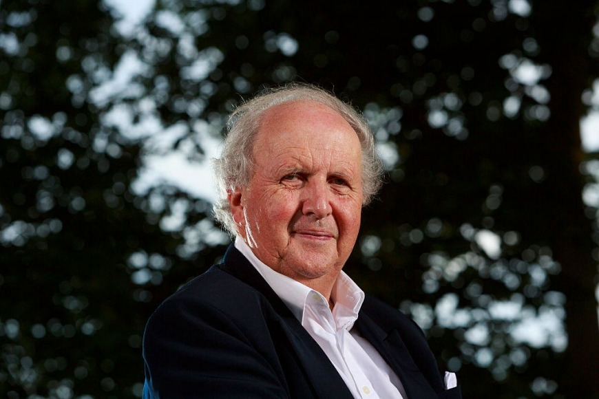 Alexander McCall Smith at Emirates Airline Festival of Literature 2018