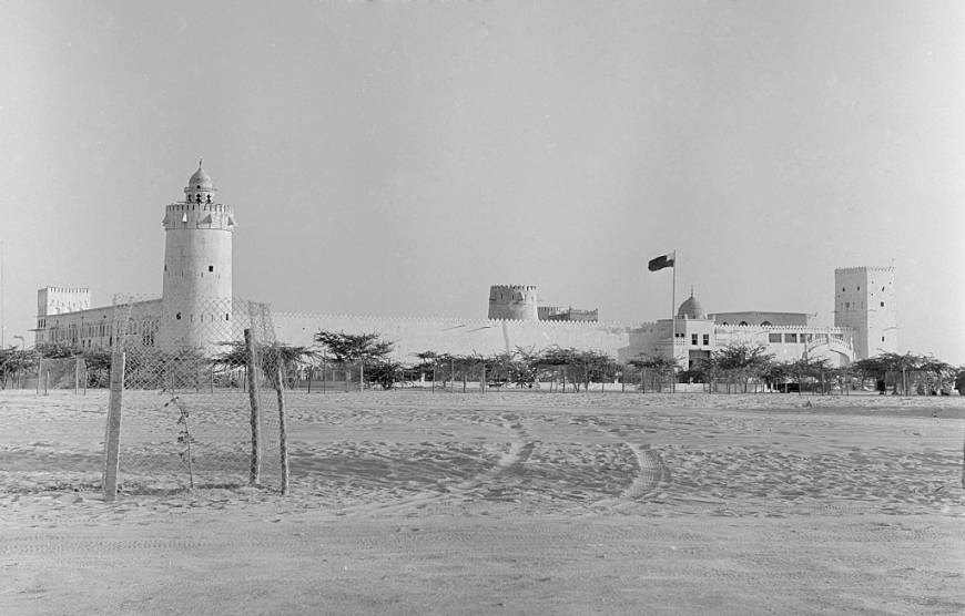Al-Hosn Palace in Abu Dhabi in history