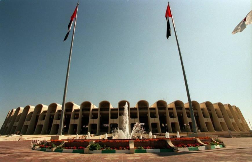 Zayed Sports City Stadium in Abu Dhabi history
