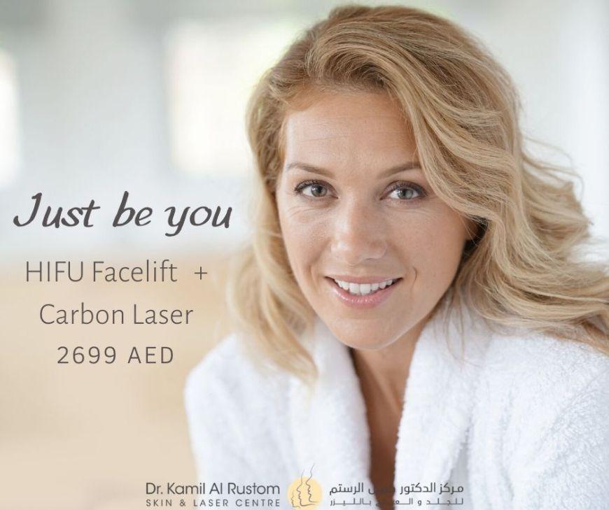 HIFU + Carbon Laser