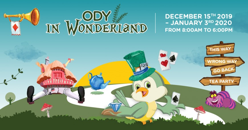 Ody in Wonderland