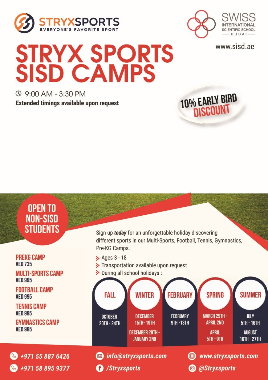 Sports Winter Camp at SISD