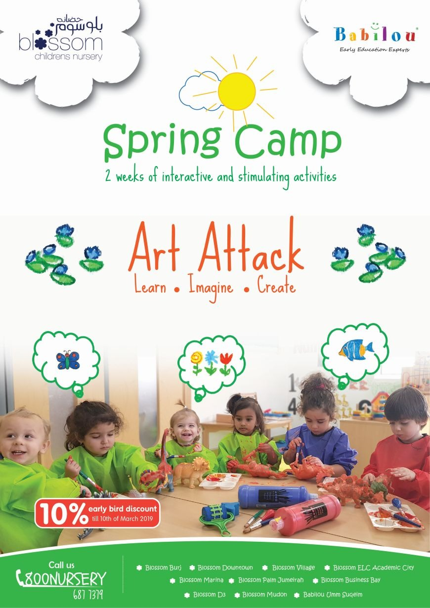 Blossom Nursery Spring Camp