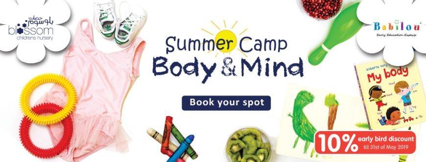 Blossom Nursery Summer Camp 2019