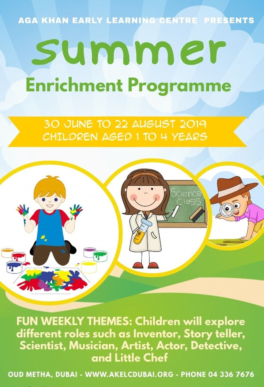 A Summer Enrichment Program for Kids in Dubai