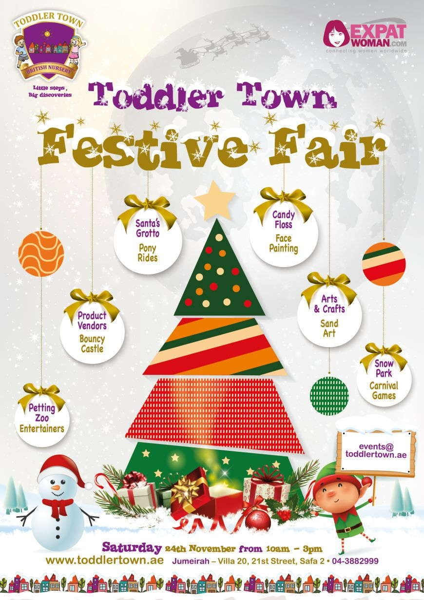 You're Invited to the Toddler Town Festive Fair 2018