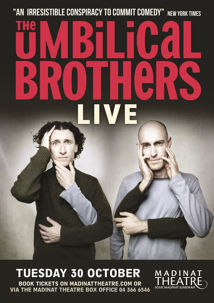 The Umbilical Brothers in Dubai