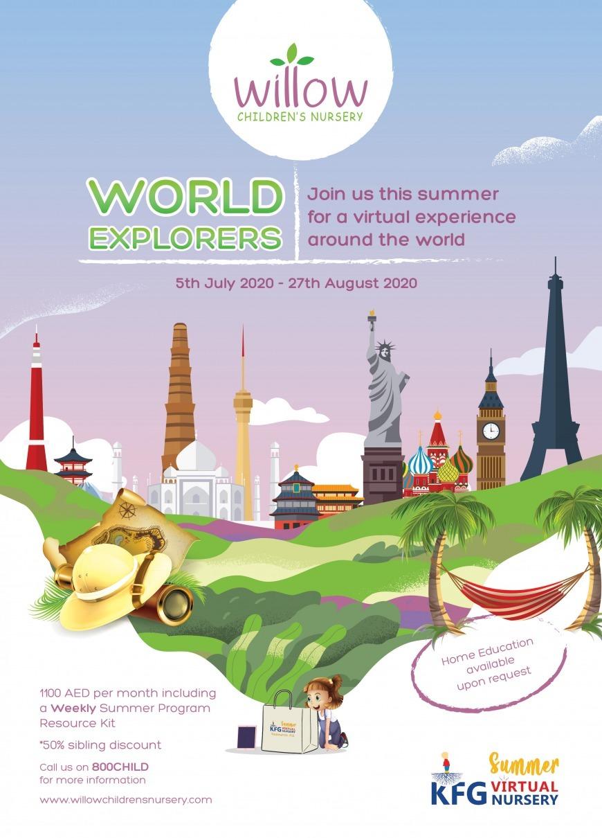 World Explorers Summer Camp at Willow Children's Nursery