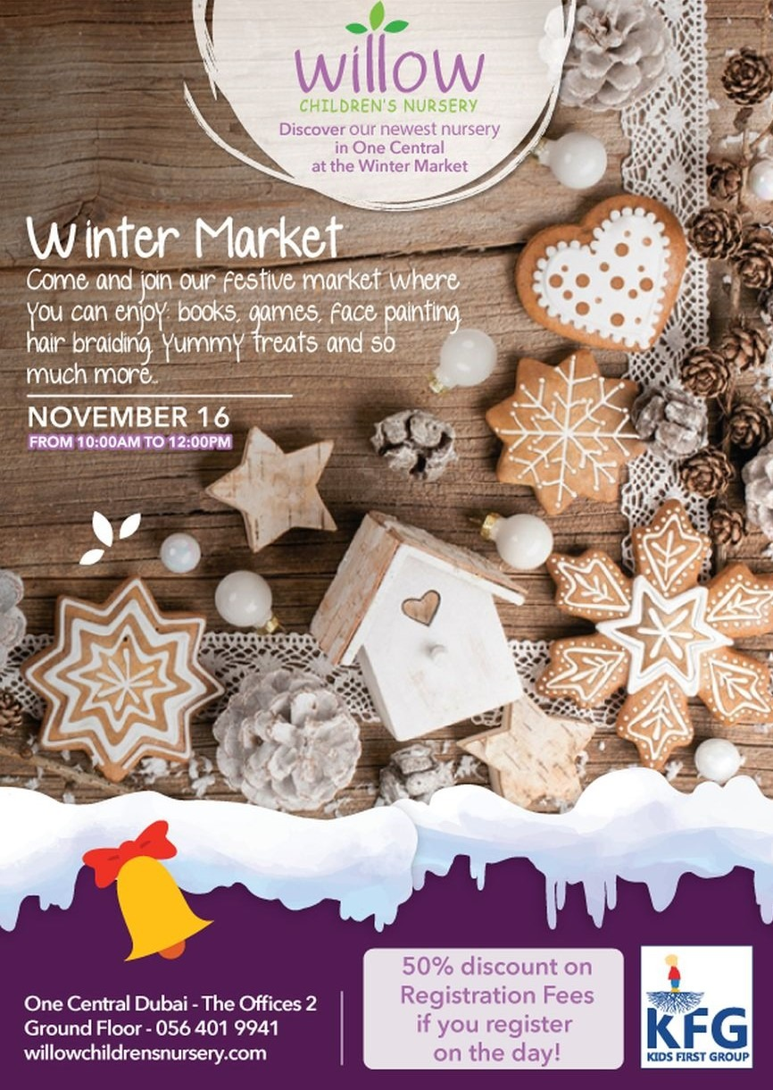 Discover Willow Children Nursery's Winter Market This Month
